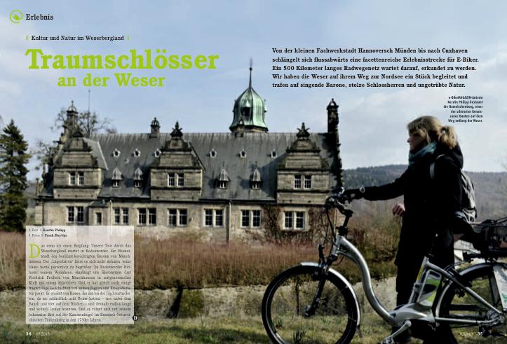 e bike weserbergland kerstin philipp redaktion text pr lektorat in aachen. Black Bedroom Furniture Sets. Home Design Ideas